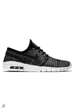 los angeles 50a88 84905 Buty Nike Stefan Janoski Max Premium Black White Multi-Colour Black  807497-006. FärgNike
