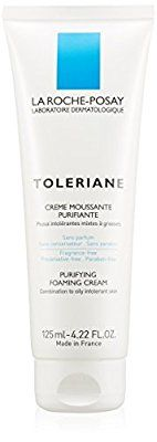 Amazon.com: La Roche-Posay Toleriane Face Wash Purifying Foaming Cream facial Cleanser and Makeup Remover for Sensitive Skin, 4.22 Fl. Oz.: Luxury Beauty