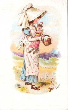 Singer Sewing Machine Card 1889