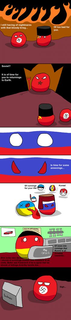The Soviet Union Returns | Polandball Comics