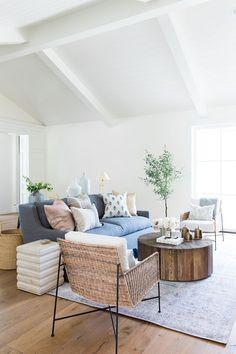 Studio McGee Pillow Styling Living Room Design