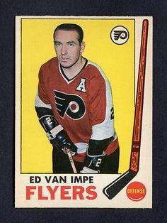 1969-70 O-PEE-CHEE ED VAN IMPE  92 NM-MT 9f6361435