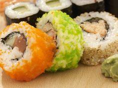 Colored Sushi