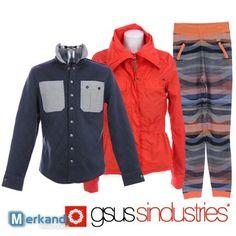 Moda GSUS uomini e donne vestiti all'ingrosso #88846 | Stock abbigliamento | merkandi.it