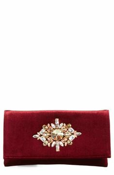 4f9268368ed Shiraleah Val Crystal Embellished Clutch #ad. Teena Rice · PURSES/BAGS