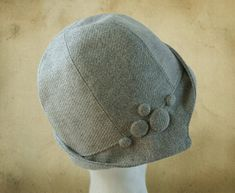 SEWING PATTERN Clementine 1920's Cloche for by ElsewhenMillinery $12