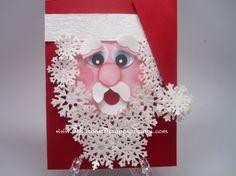 Santa Card - Tutorial Available