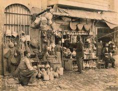 1870, İstanbul'da bir esnaf.