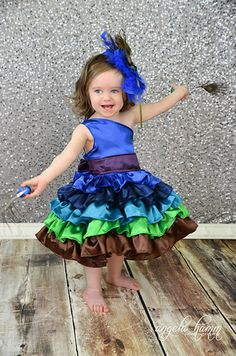 Create Kids Couture - Francesca's Baby Frilly Ruffle Dress PDF Pattern. Fran looks great made from quilting cottons or in satins. Perfect for any special occasion your little may have coming up!