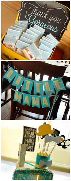 Creative baby boy shower ideas - diy little mama banner baby shower signs. Baby Showers, Baby Shower Fun, Baby Shower Gender Reveal, Shower Party, Baby Shower Parties, Little Man Shower, Baby Sprinkle, Baby Time, Baby Party