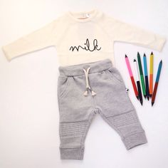 Organic cotton | comfy baby flatlay outfit | www.darlingminis.com