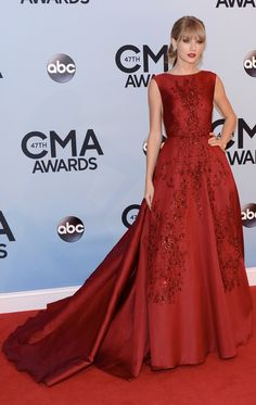 The 47th Annual Country Music Association Awards on November 6, 2013 @ The Bridgestone Arena in Nashville, TN | Gown by #eliesaab