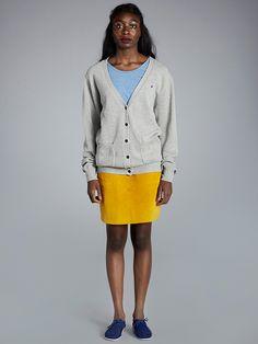 Knit Cardigan, Lace Skirt, Feminine, Knitting, Skirts, Clothes, Women, Fashion, Women's