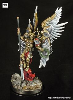 SHOWCASE: Lucifer, Lord of the Host - Master of the Blood Angels | Wargames, Warhammer & Miniatures News: Bell of Lost Souls