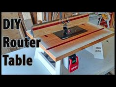 (3) Build a Benchtop ROUTER TABLE | DIY - YouTube