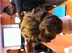 Emma's hairdo? (Except her hair was blonder.)