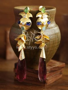 Buy  designer earrings collection only on styyo jewellery