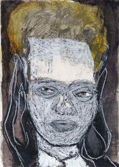 Untitled by Marlene Dumas