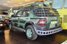 ML 320 (W 163) 1997. Mercedes-Benz Museum Stuttgart. Photo Jorge Alejandro Medellín. 2011.