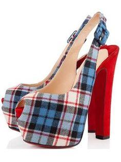 4b3e63cf1370 Heel Hight Platform Hight Red Peep Toe Shoes Christian Louboutin Women