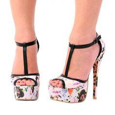 comic book women high heels by my favorite artist...Lora Zombie!
