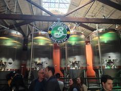 Free tours, but sometimes have to wait Brooklyn Brewery in Brooklyn, NY