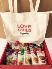 We've partnered with @lcorganics to get one lucky winner 12 Full - Sized Love Child Organics Pouches! 03/16/15-03/19/15
