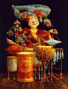 James Christensen - Piscatorial Percussionist | Flickr - Photo Sharing!