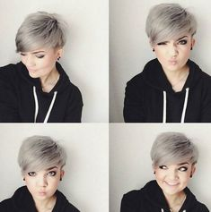 Cute Pixie Cuts for Round Faces