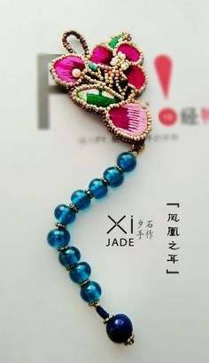 One of a kind hand beaded jewelry from Yunnan, China