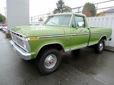 1974 F-250 HighBoy Ford Truck Models, 79 Ford Truck, Farm Trucks, Ford 4x4, Ford Pickup Trucks, Dump Trucks, 4x4 Trucks, Cool Trucks, Classic Ford Trucks