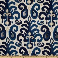 54'' Wide Suburban Rasul Ikat Blue Fabric By The Yard by Duralee, http://www.amazon.com/dp/B0085ENW4O/ref=cm_sw_r_pi_dp_jVCjqb1BTXHNF