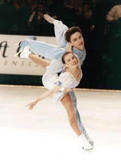 "Sergei Grinkov & Ekaterina Gordeeva- still my favorite pairs skaters of all time. Read Katia's book ""My Sergei""... but have your tissues ready!"