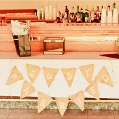 Simple instructions to make your own burlap banners for a celebration or holiday.
