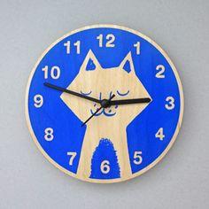 Lisa Jones Cat Clock