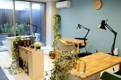 北欧ネイルサロン hokune Pedicure Spa, Nail Spa, Nail Saloon, Small Salon, Nail Salon Decor, Nail Room, Nail Studio, My House, Interior Design