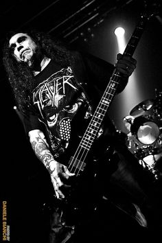 Slayer - Tom Araya by dani[grunge photographer], via Flickr