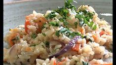 Sencilla y deliciosa manera de preparar un arroz con camarones.  #Arrozdecamarones #camarones #receta #arrozdemariscos Risotto, Ethnic Recipes, Food, Coconut Milk, Easy Recipes, Ethnic Food, Cooking, Essen, Meals