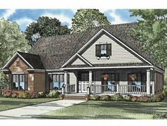 Eplans Country House Plan - Three Bedroom Country - 2533 Square Feet and 3 Bedrooms from Eplans - House Plan Code HWEPL57981