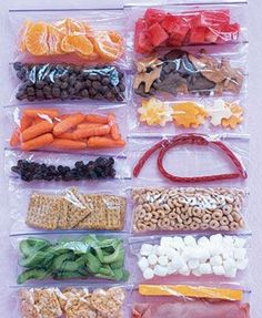 Healthy snacks to-go