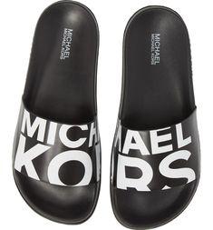 bdfcaf4ef2f Free shipping and returns on MICHAEL Michael Kors Gilmore Slide Sandal  (Women) at Nordstrom