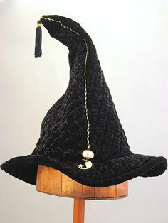 Our cotton velveteen wizard hats have spines to keep them upright while our quilted velvet wizard hats can stand up or flop over. They also have a stretch band with adjustable elastic, a small crystal jewel in front and a tassel. The Last Unicorn, Stretch Bands, Large Crystals, Black Quilt, Toad, Velvet, Jewels, Witches, Holidays