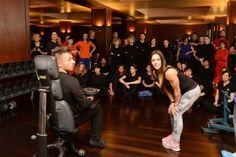 A lezione con la «dea» del fitness - Giornale di Brescia