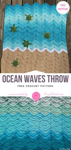 Ocean Waves Throw Free Crochet Pattern on easywool.com #crochetfreepatternforbaby #crochetfreepatternforblanket #crochetbabyblanket #crochetstitch #crochet #crochetfreepatternsforlady #crochet #shellstitch #freecrochetPatterns #freecrochetPatterns #afghan #freecrochetPatternsforafghan #freecrochetPatternsforblanket #crochetstitch #crochet #crochetfreepatternsforhome #afghan #freecrochetPatternsforafghan #freecrochetPatternsforblanket #crochetstitch #crochet
