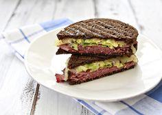 reuben-inspired panini