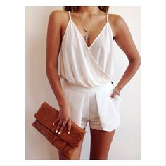 Love this summer outfit - for dressing up casually!