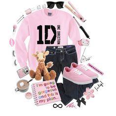 """""""1D♥"""" by lillyrenee on Polyvore"""