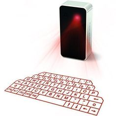 AGS ™ Wireless Laser Projection Bluetooth Virtual Keyboard & Mouse for Iphone, Ipad, Smartphone and Tablets