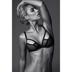 """@_michellejulie #lingerie #editorial #agentprovocateur MUA @cara_okfen_makeupartist  with @leonhardkoall @mihai_nagy"""