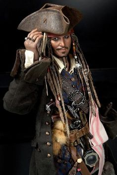 My first Hot Toys Collection. Captain Jack Sparrow   Pirates of the Carribean Hot Toys DX Movie Masterpiece 1/6 Scale Collectible Figure Jack Sparrow  Release Date: 3rd Quarter 2011